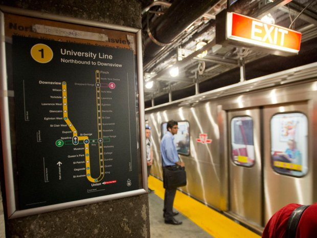 Lawrence Solomon: Instead of proposing money-losing tunnels through nowhere, under money-losing stations with next to no one and next to nothing in them, Toronto's mayoralty candidates should tout money-making subways through the city's dense commercial and residential districts. Laura Pedersen / National Post.